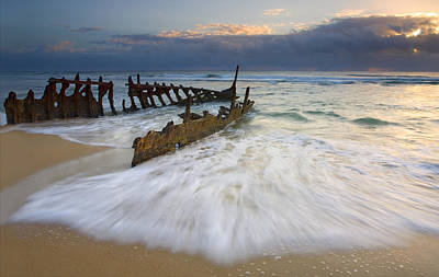After Photograph - Swept Ashore by Mike  Dawson
