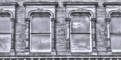 Photograph - Swept Head Decorative Sash Windows by Jacek Wojnarowski