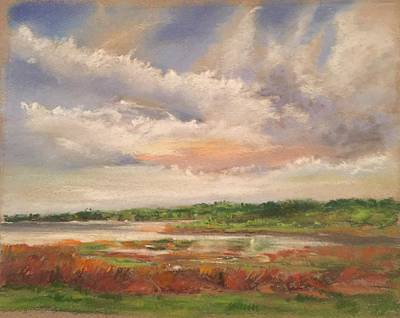Pastel - Swift Creek Va by Janet Visser