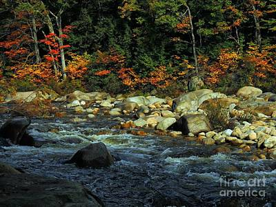 Photograph - Swift River # 2 by Marcia Lee Jones