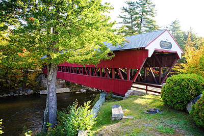 Photograph - Swift River Bridge by Scott Kemper