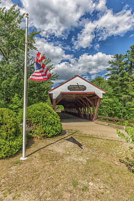 Photograph - Swift River Covered Bridge by Brian MacLean