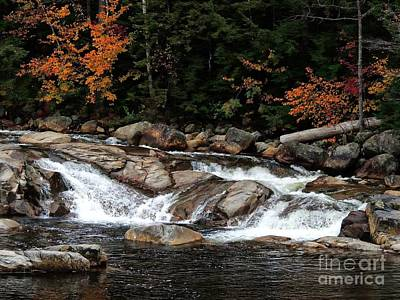 Photograph - Swift River Falls by Marcia Lee Jones