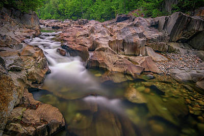Photograph - Swift River In Coos Canyon by Rick Berk