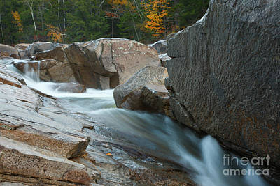 Photograph - Swift River Lower Falls - Albany, New Hampshire by Erin Paul Donovan