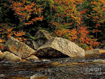 Photograph - Swift River, Nh by Marcia Lee Jones