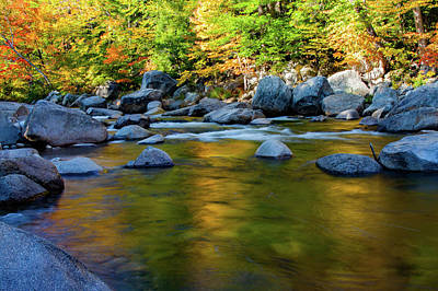 Photograph - Swift River Reflection by Jeff Folger