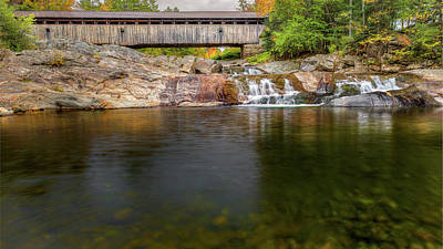Photograph - Swiftwater Covered Bridge by Bill Wakeley