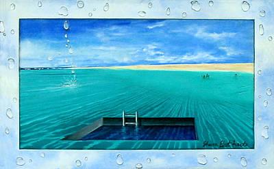 Painting - Swimming Pool by Sharon Ebert