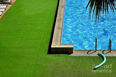 Minimalist Photograph - Swimming Pool by Silvia Ganora
