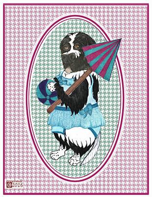 Swimparty2016 Art Print by Jenn Schmidt