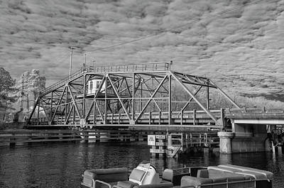 Photograph - Swing Bridge by Cathie Crow