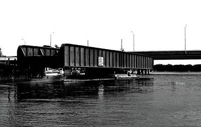 Digital Art - Swing Bridge by JGracey Stinson