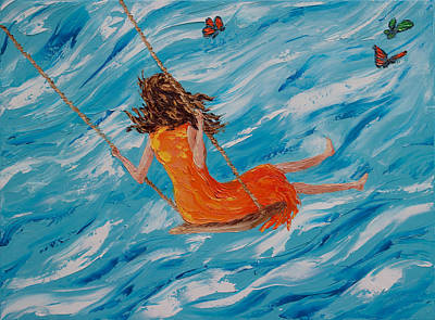 Swing Free No. 4 Original by Cynthia Christine