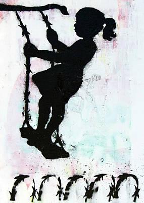 Photograph - Swing Girl by Munir Alawi