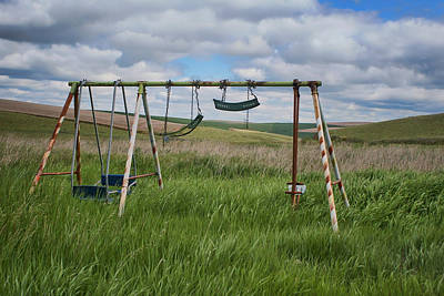 Photograph - Swing Set by Nikolyn McDonald