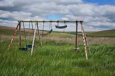 Photograph - Swing Set by Nikolyn McDonald