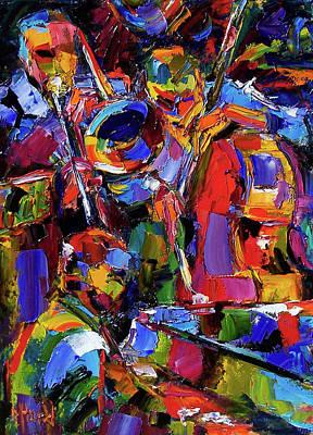 Painting - Swingin' by Debra Hurd