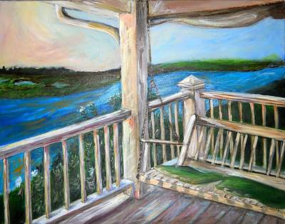 Swing Painting - Swinging  by Anne Seay