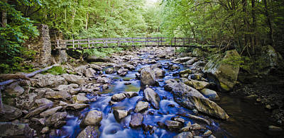 Photograph - Swinging Bridge by Daniel Houghton