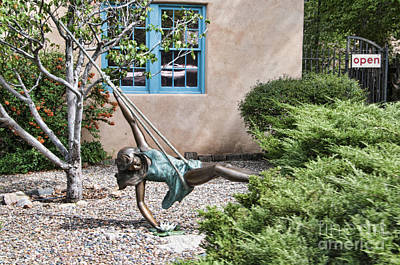 Photograph - Swinging In Santa Fe by Brenda Kean