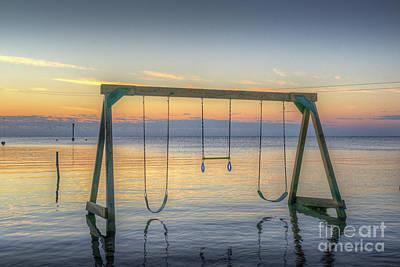 Photograph - Swinging In The Sun by David Zanzinger