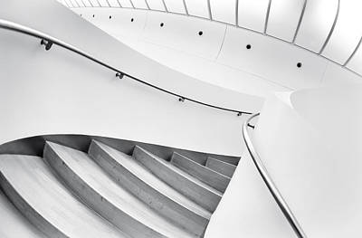 Staircase Photograph - Swinging Staircase by Gerard Jonkman