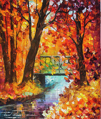 Painting - Swinging Time by Leonid Afremov