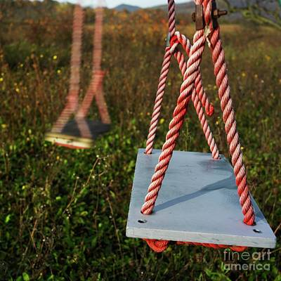 Swings Art Print by Bernard Jaubert