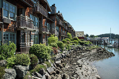 Photograph - Swinomish Channel Condos by Tom Cochran