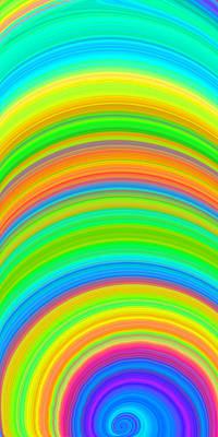 Swirl 2 Print by Chris Butler