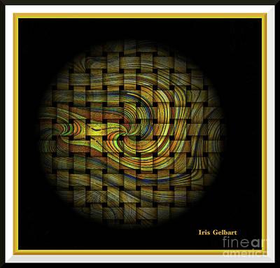 Digital Art - Swirl Away by Iris Gelbart