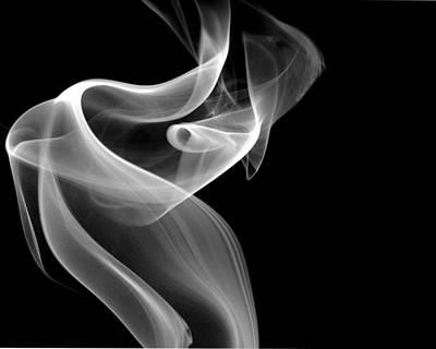 Smoke Art Photograph - Swirl by Bryan Steffy
