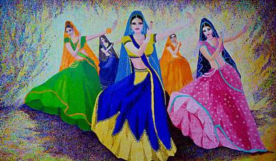 Swirl Of The Skirts Original