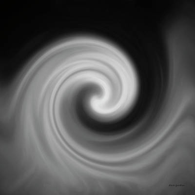 Gordan Digital Art - Swirl Wave II by David Gordon