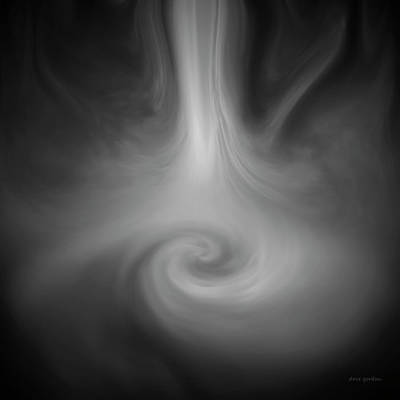 Gordin Digital Art - Swirl Wave IIi by David Gordon