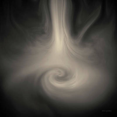 Photograph - Swirl Wave IIi Toned by David Gordon