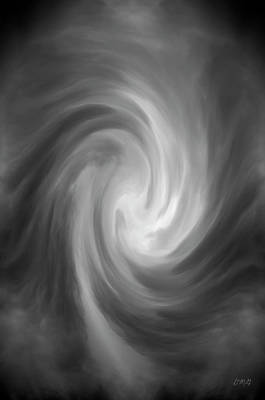 Gordan Digital Art - Swirl Wave Iv by David Gordon