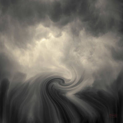 Photograph - Swirl Wave Vi Toned by David Gordon