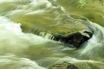 Photograph - Swirling Cascade by TnBackroadsPhotos