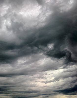 Swirling Clouds Art Print by Stephen Doughten