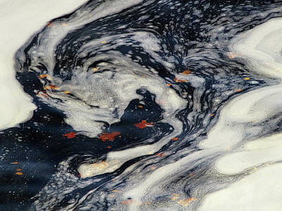 Swirling Current Art Print