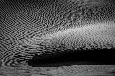 Photograph - Swirling Dunes by Peter Tellone