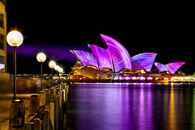 Vivid Festival Photograph - Swirling Sails by Az Jackson