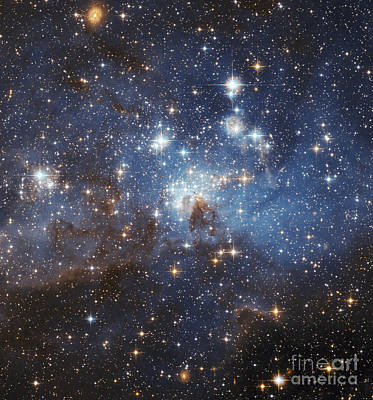 Photograph - Swirls Of Gas And Dust Reside In This by Stocktrek Images