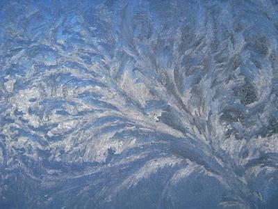 Photograph - Swirls Of Ice by Rhonda Barrett