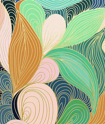 Digital Art - Swirly Interest by Uma Gokhale