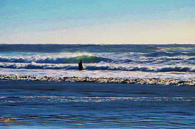 Photograph - Waiting For The Surf by Marilyn Wilson