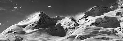 Swiss Alps Art Print by Marc Huebner