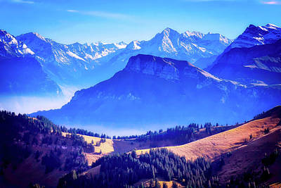 Photograph - Swiss Alps by Pixabay